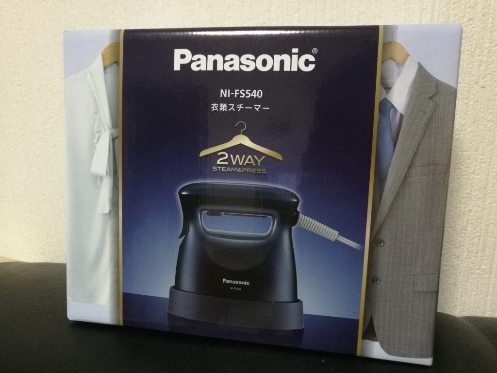 パナソニック 衣類スチーマー A8フェスティバル